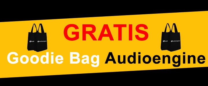 Gratis Goodie Bag Audioengine